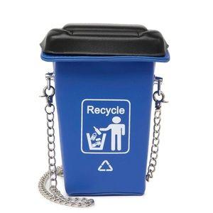 Brinley Recycle Bin Crossbody Bag